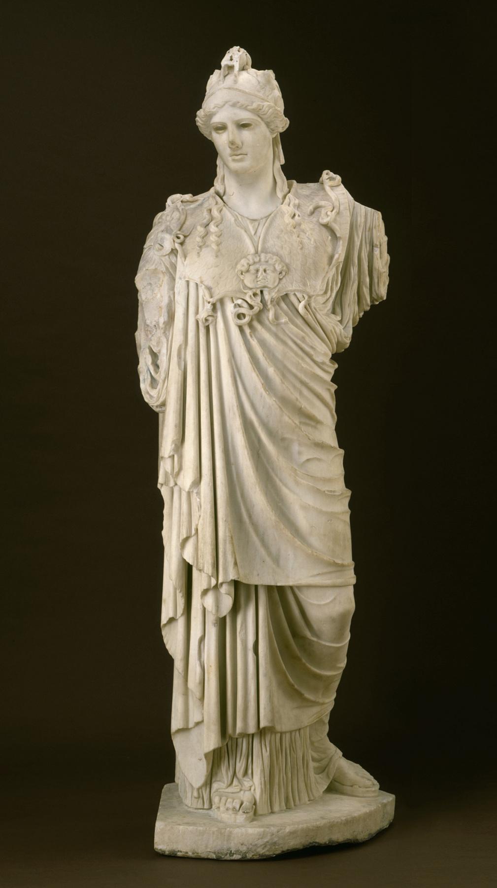 Неизвестный  художник. Надежда Афина. Римская копия греческого оригинала 5 в. до н. э.