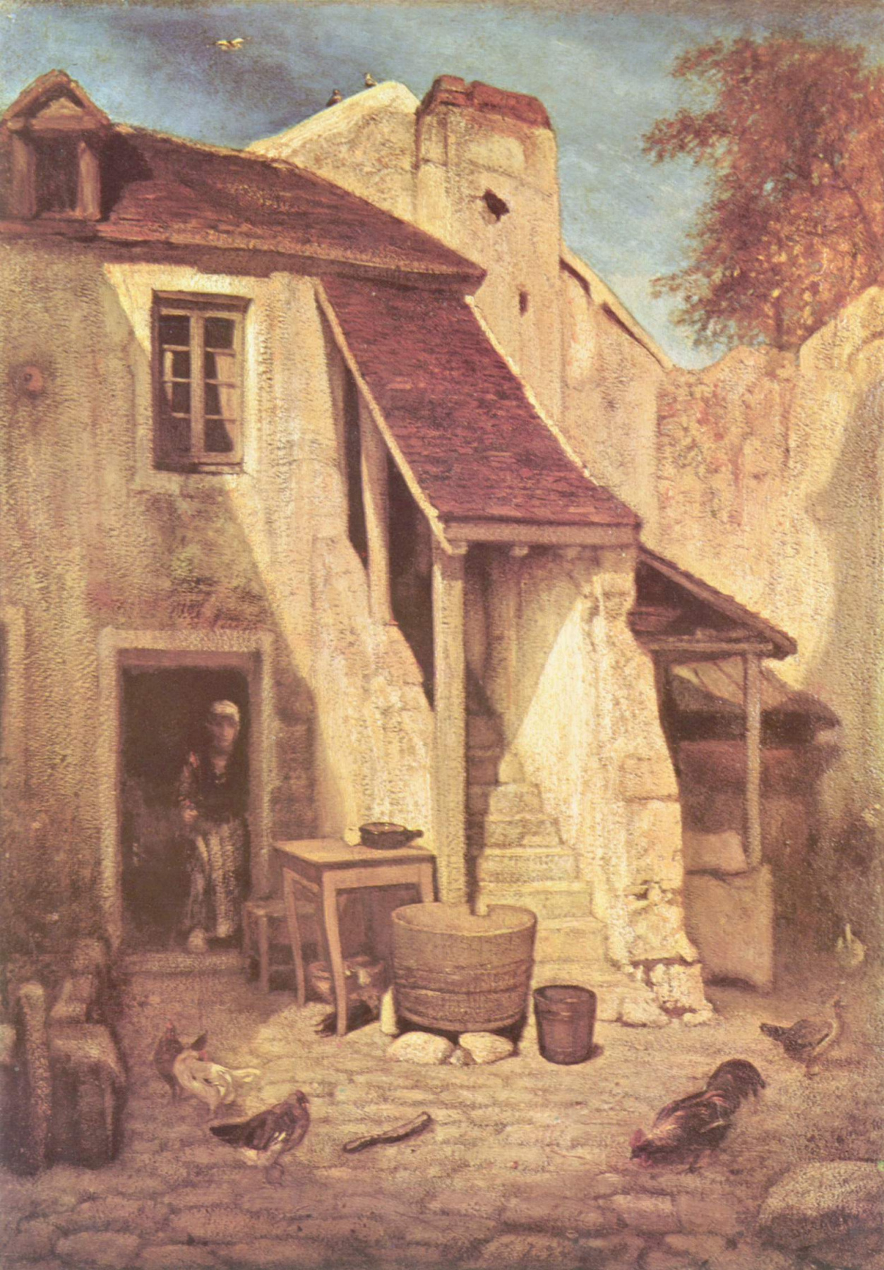Alexander-Gabriel Dean. Farm in Fontenblo