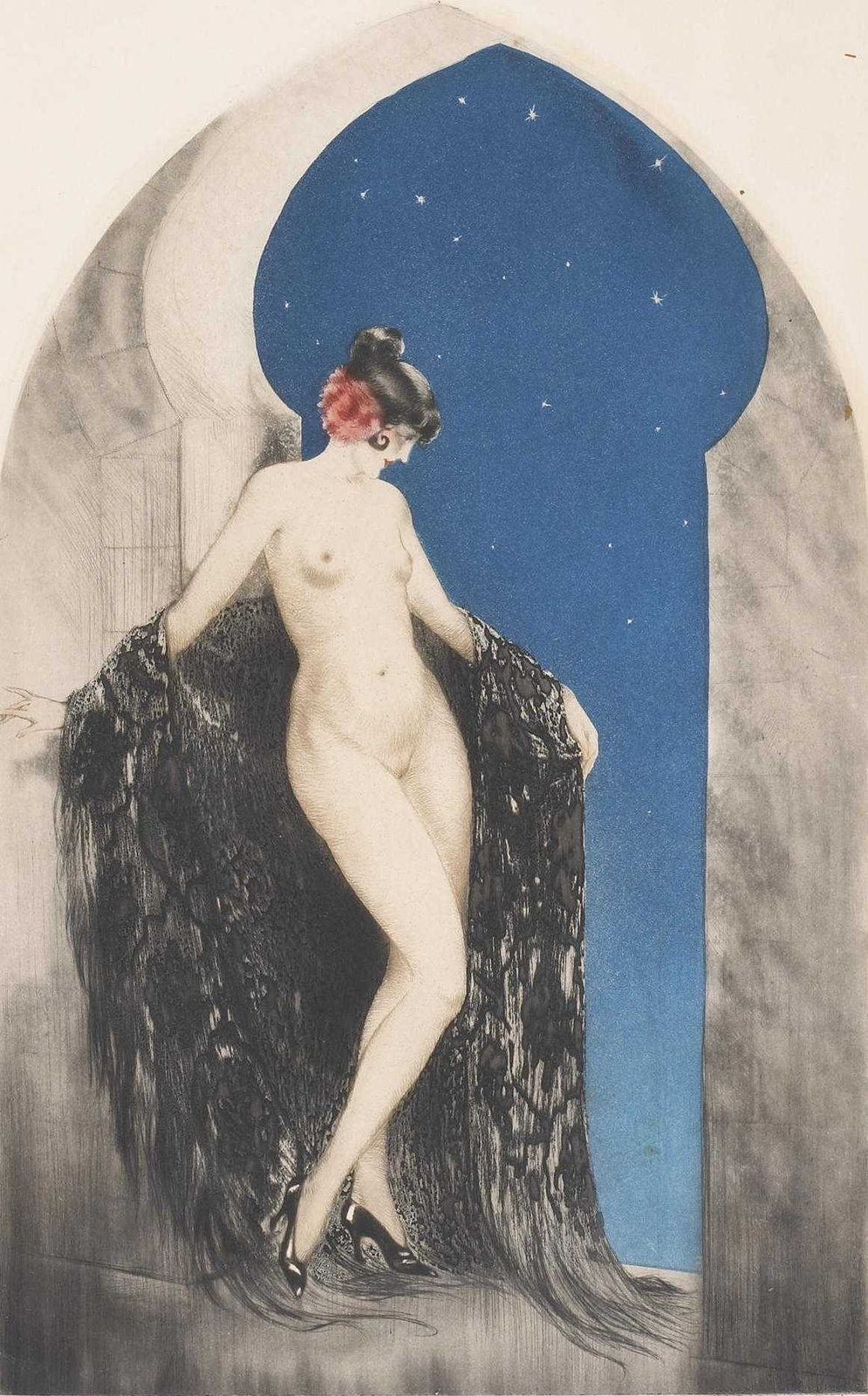 Icarus Louis France 1888 - 1950. Spanish nights. 1926