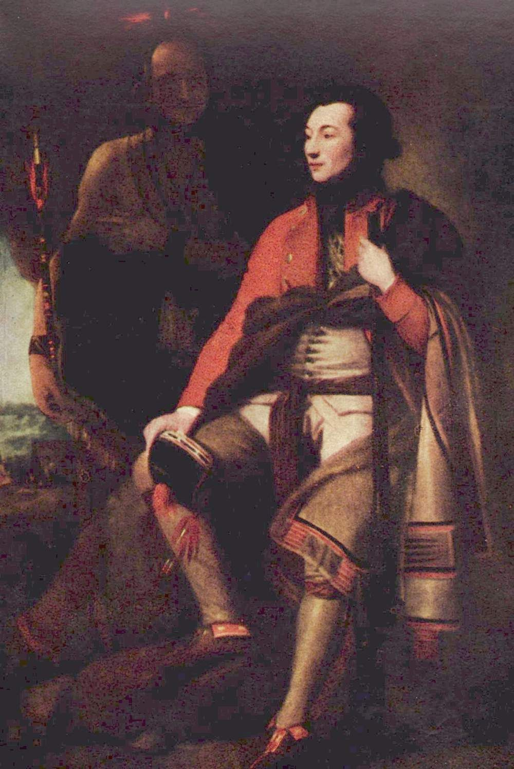 Benjamin West. Portrait of Colonel guy Johnson