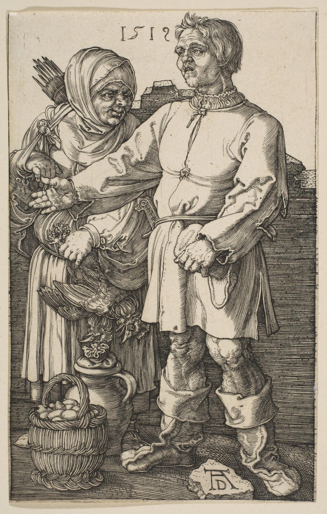 Albrecht Dürer. Farmers market
