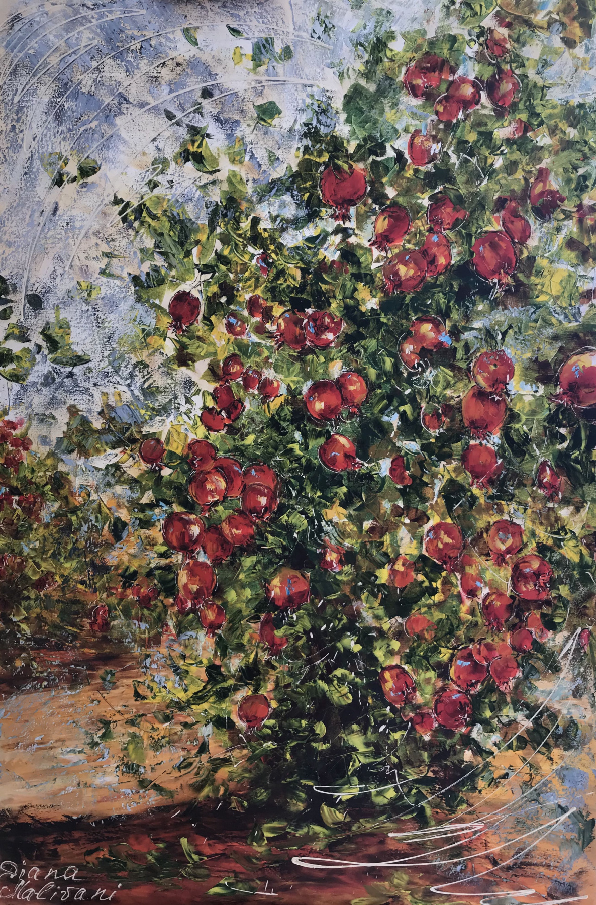 Диана Владимировна Маливани. Pomegranate Tree