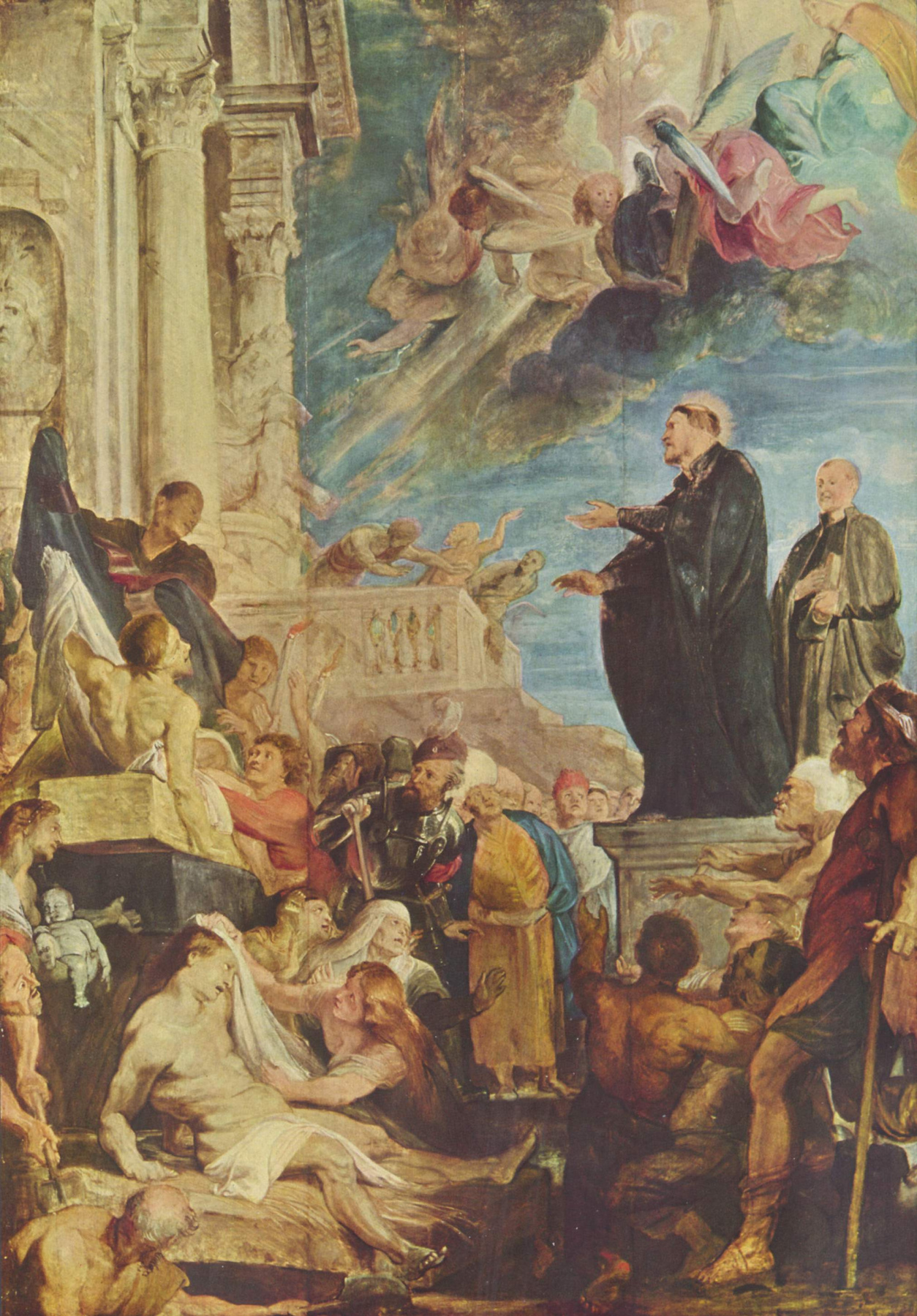 Peter Paul Rubens. The miracle of St. Francis Xavier