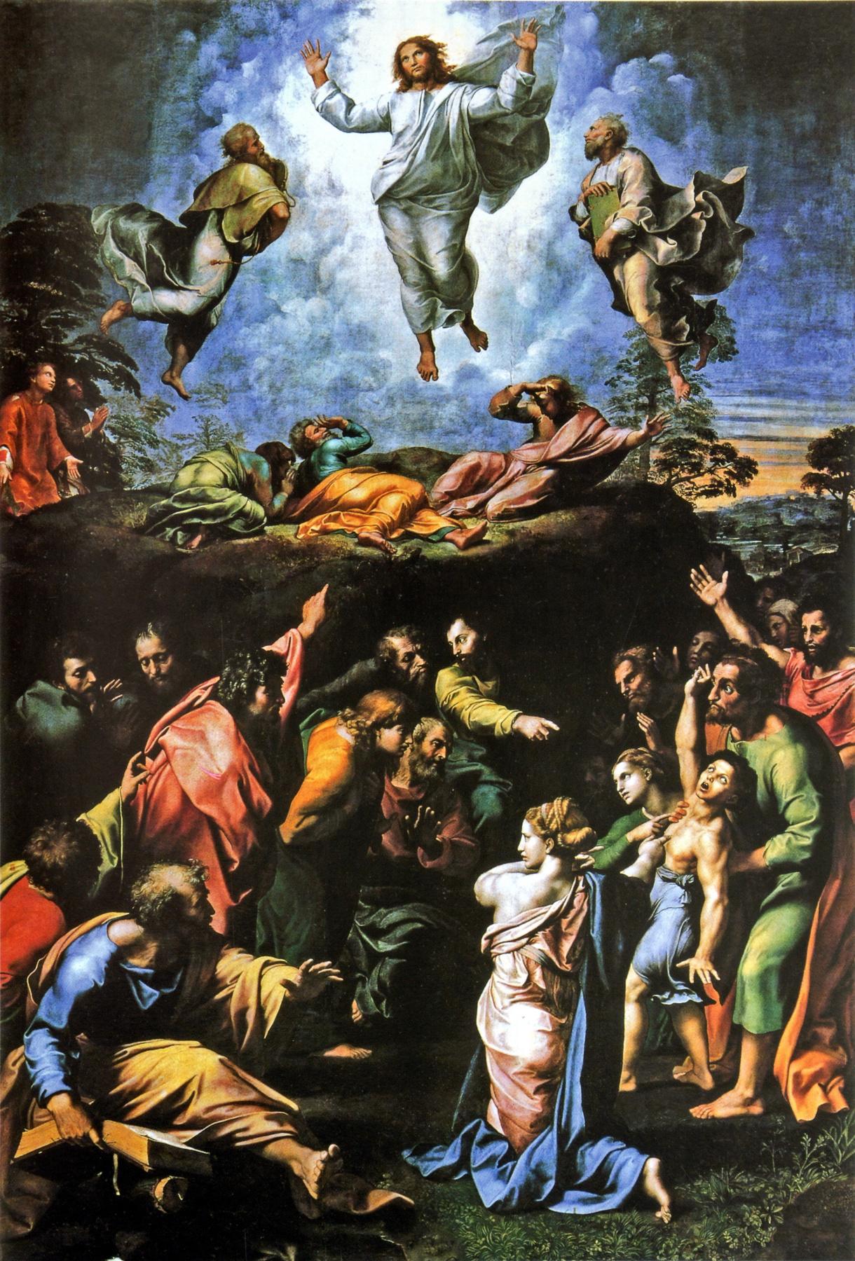 Raphael Sanzio. Transformation