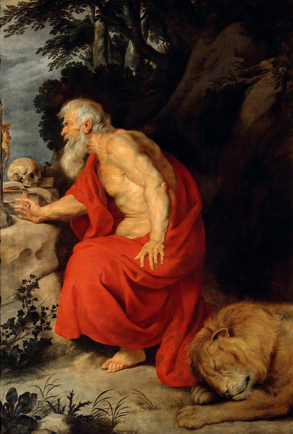 Peter Paul Rubens. Saint Jerome