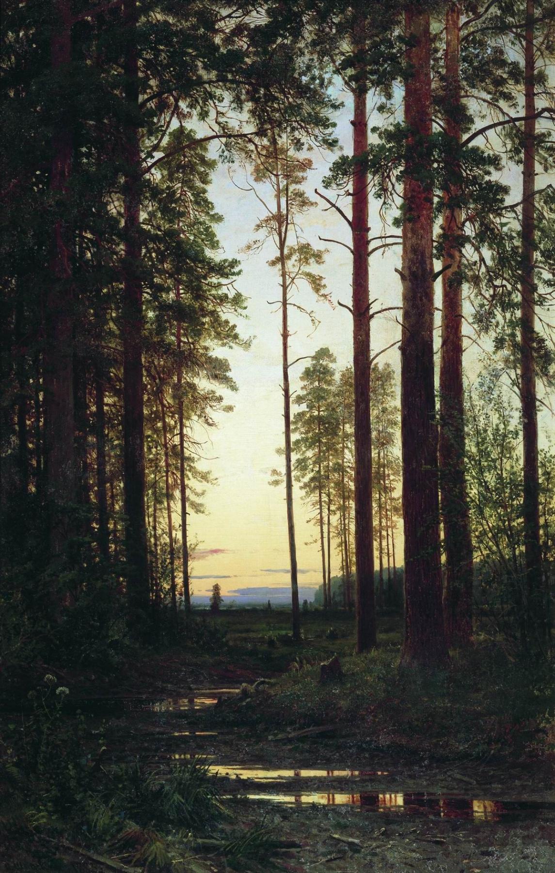 Ivan Shishkin. Twilight