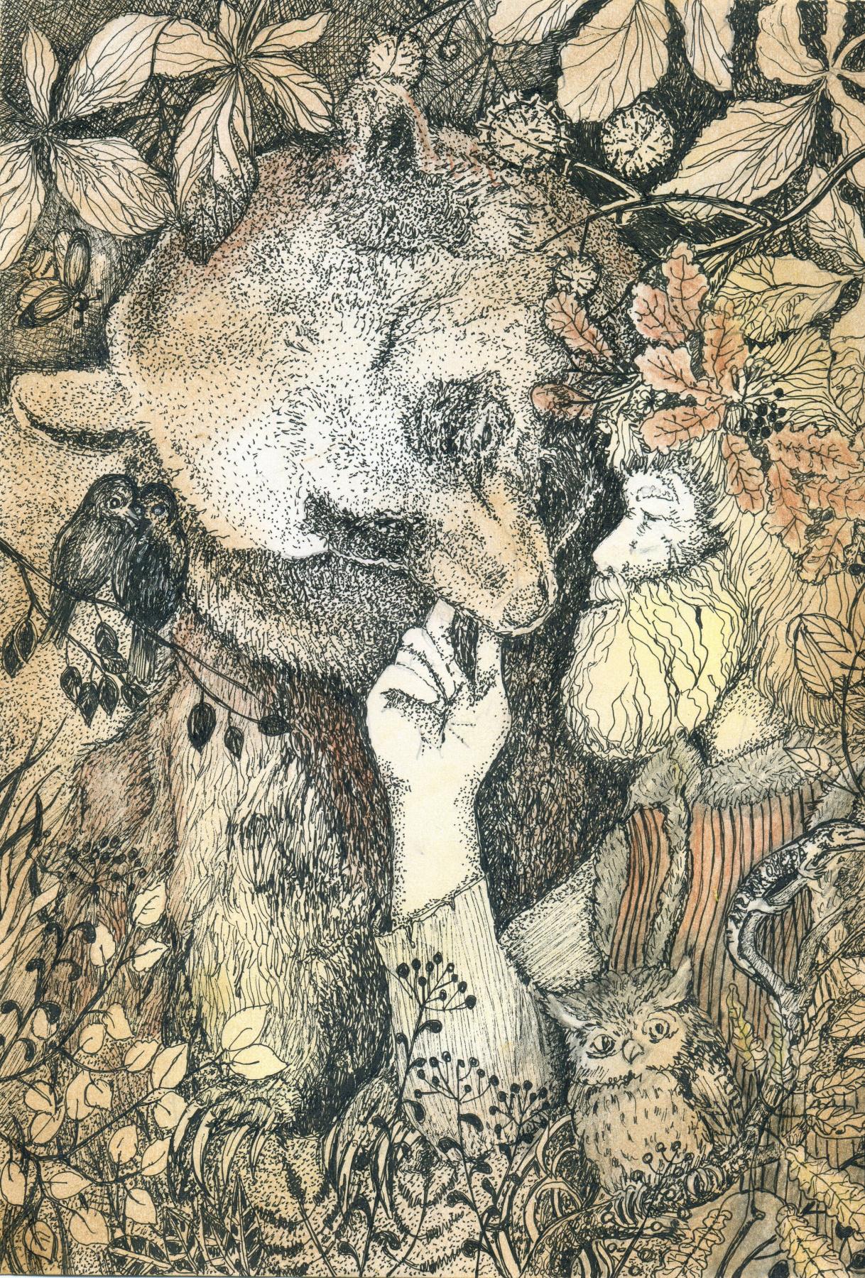 Olyona Ivanovna Koneva. Forest master
