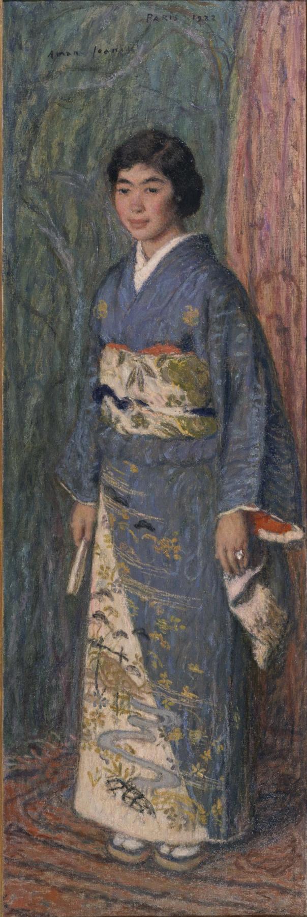 Эдмон Франсуа Аман-Жан. Портрет госпожи Такеко Куроки
