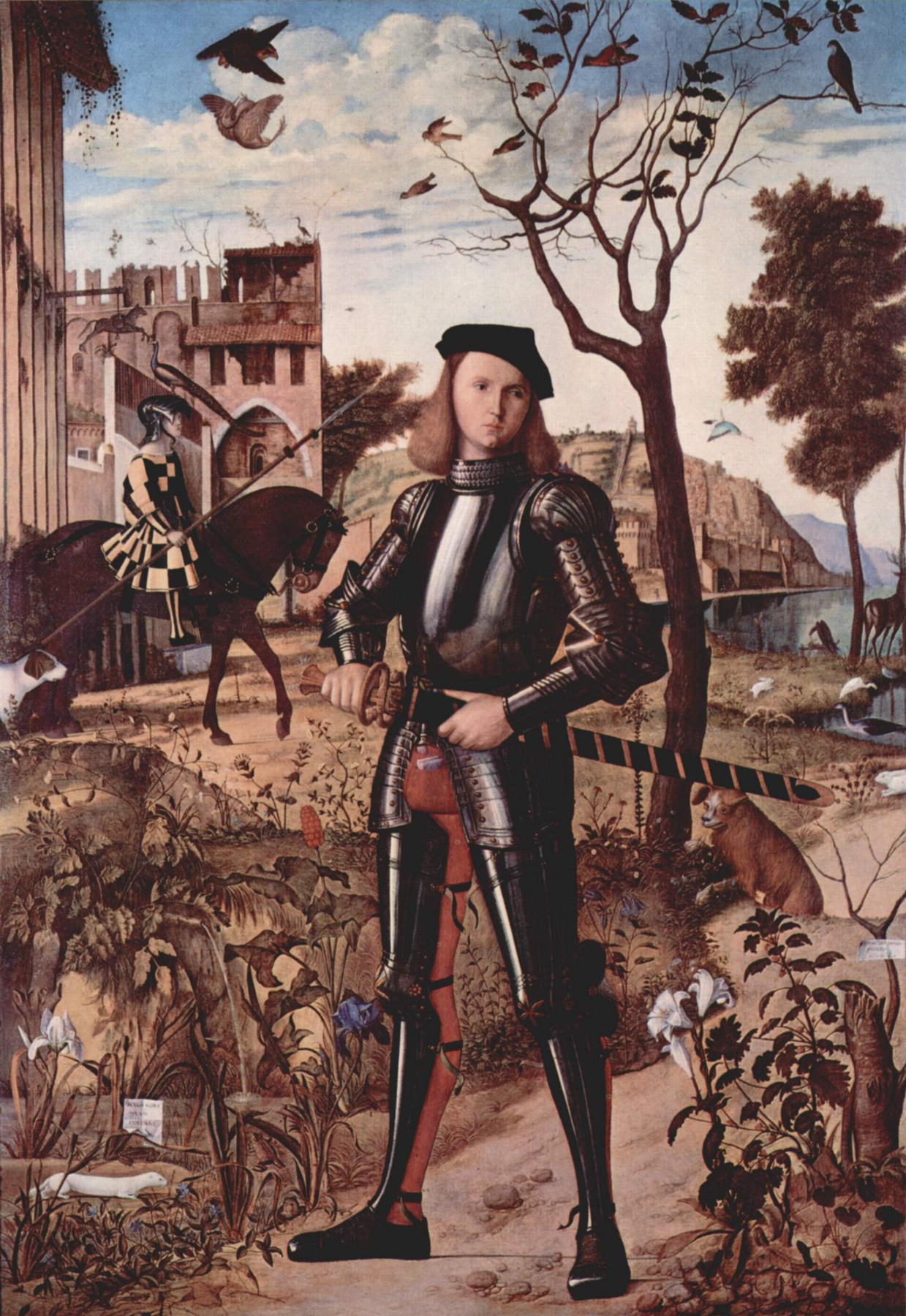 Vittore Carpaccio. Portrait of a knight