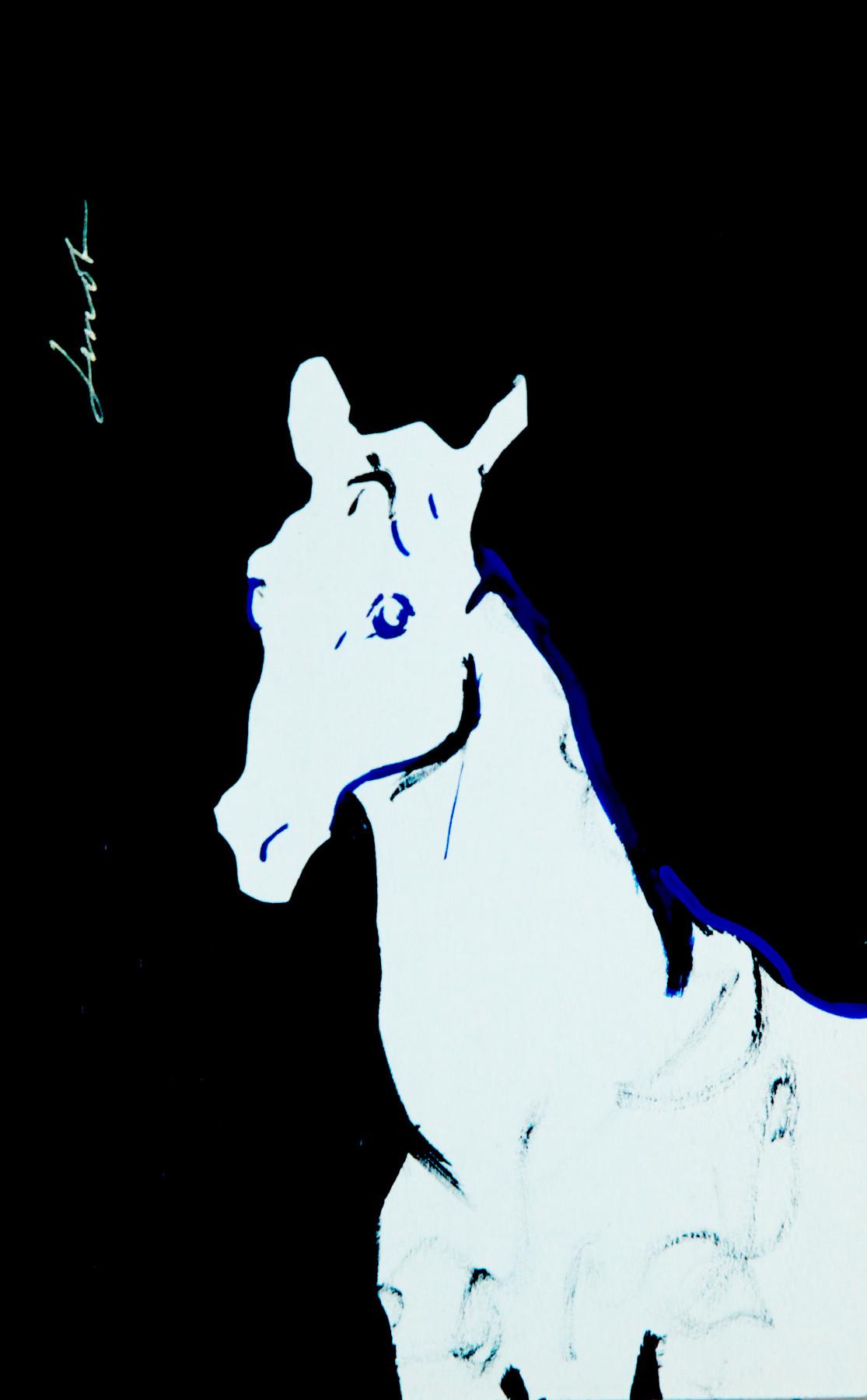 Lenok. The horse