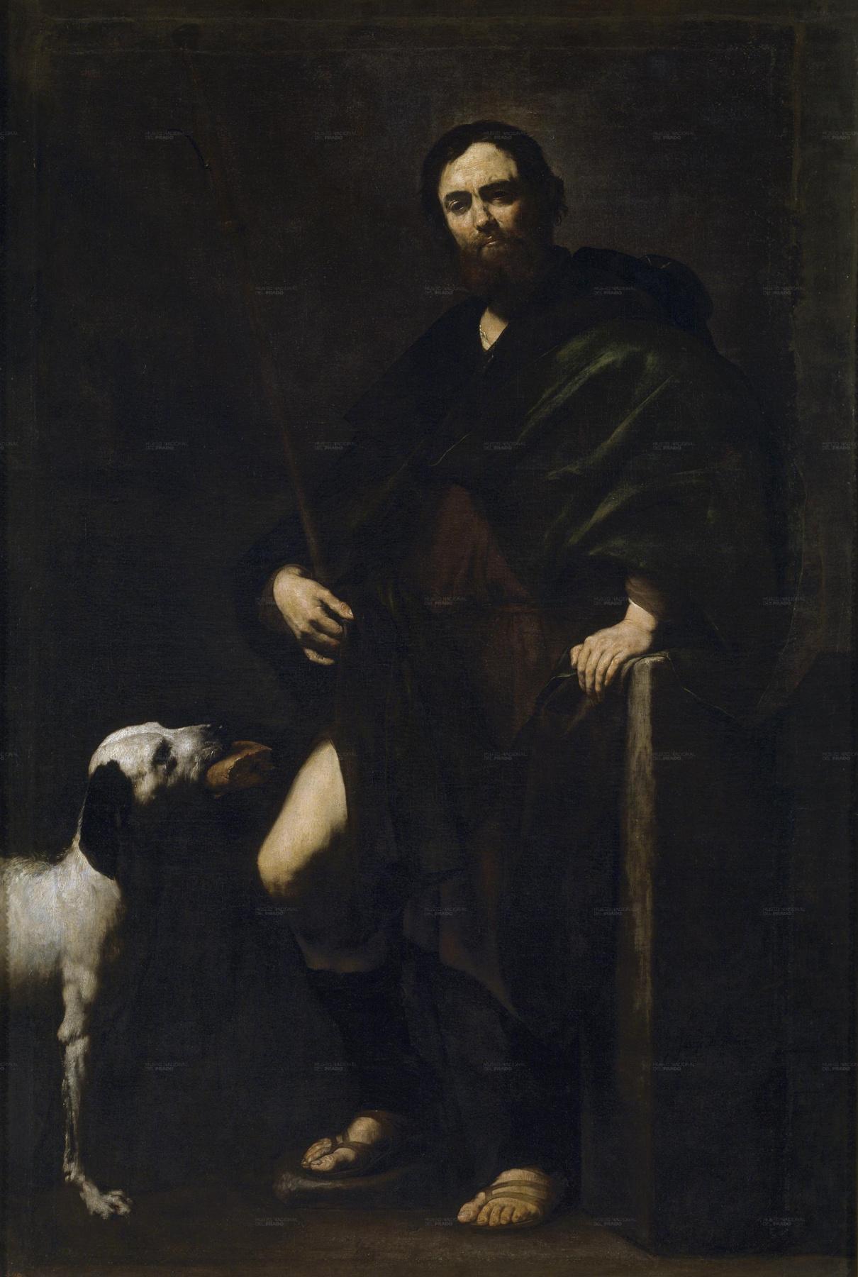 Jose de Ribera. SV. Roch