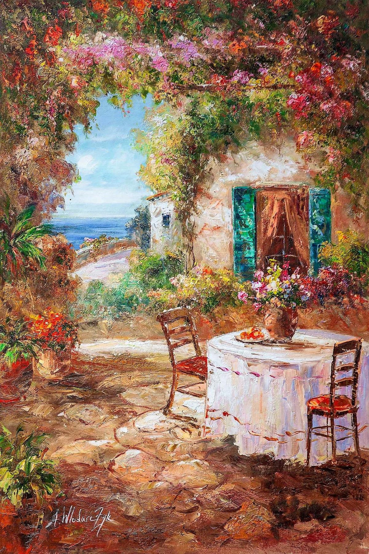 Andrzej Vlodarczyk. In the shadow of flowers N3