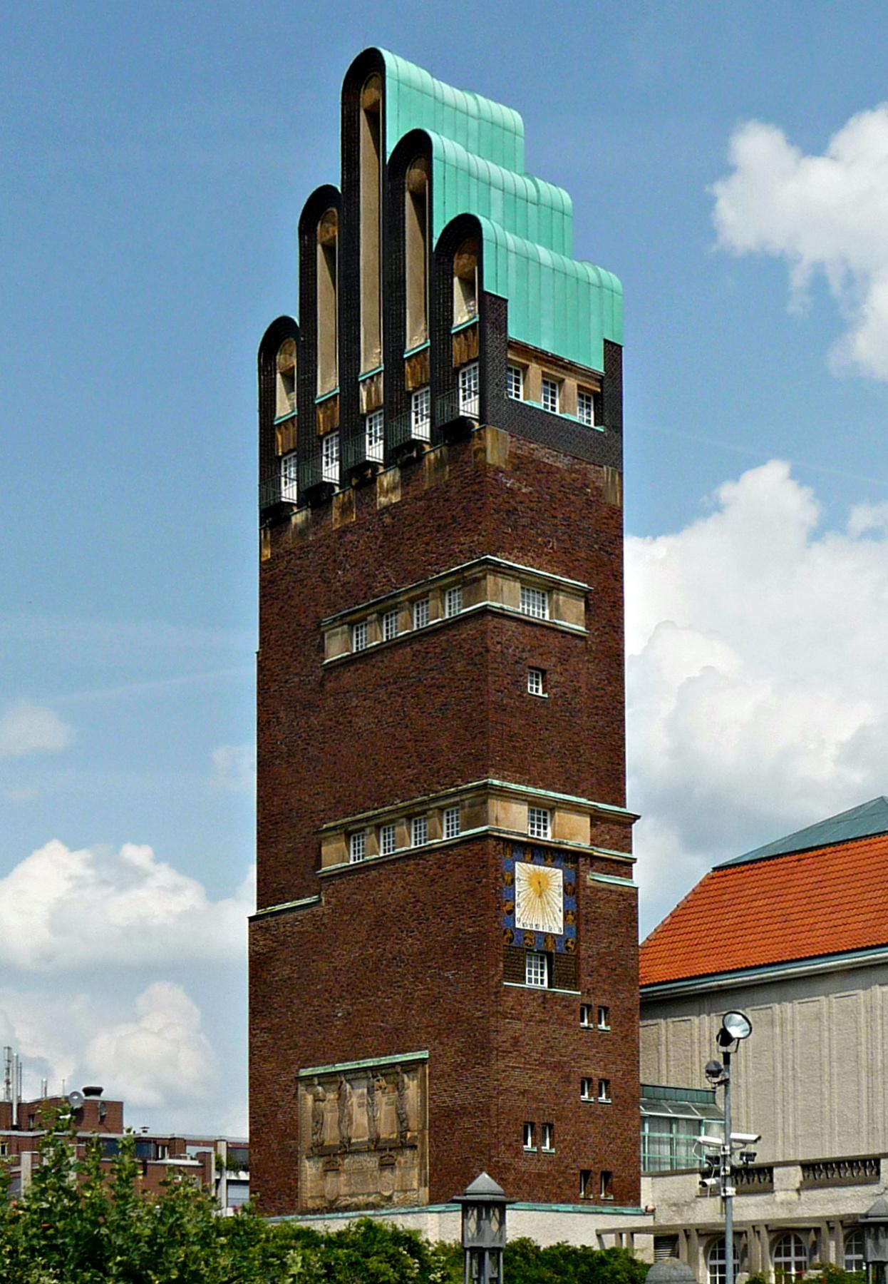Joseph Maria Olbrich. Wedding Tower in Darmstadt