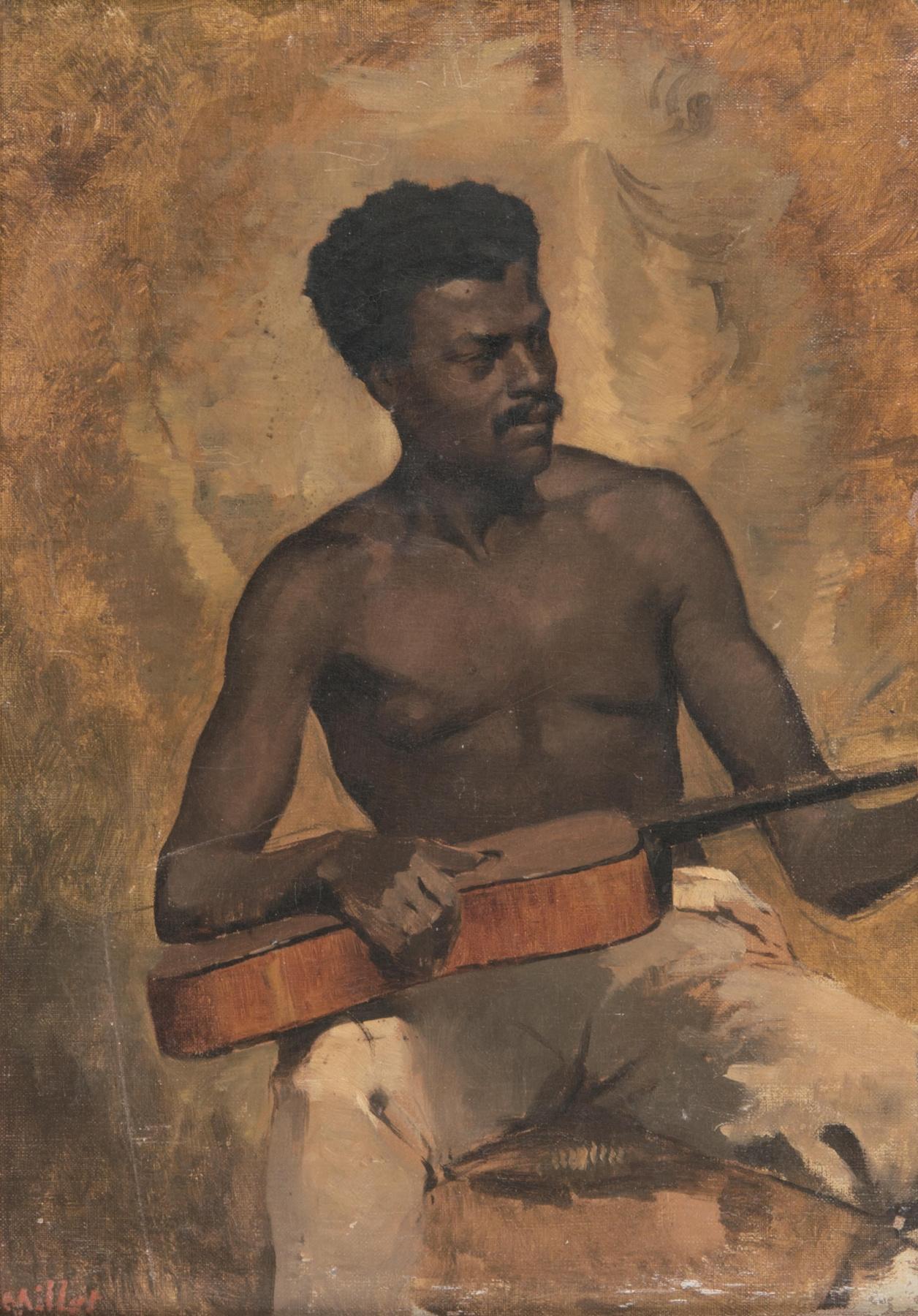 Francis Davis Millet. Guitarist (Music in New Orleans)