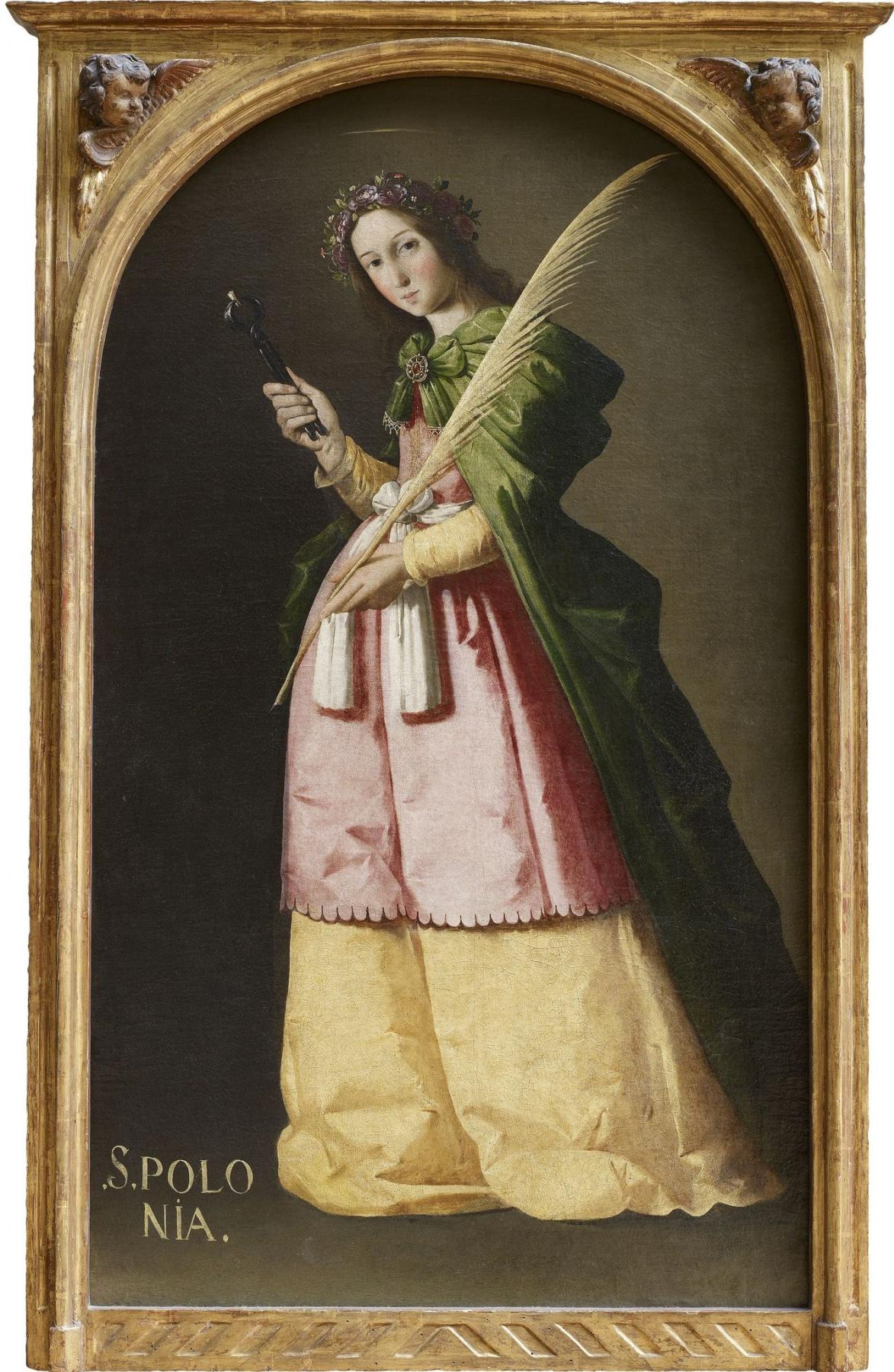 Francisco de Zurbaran. St. Apollonia