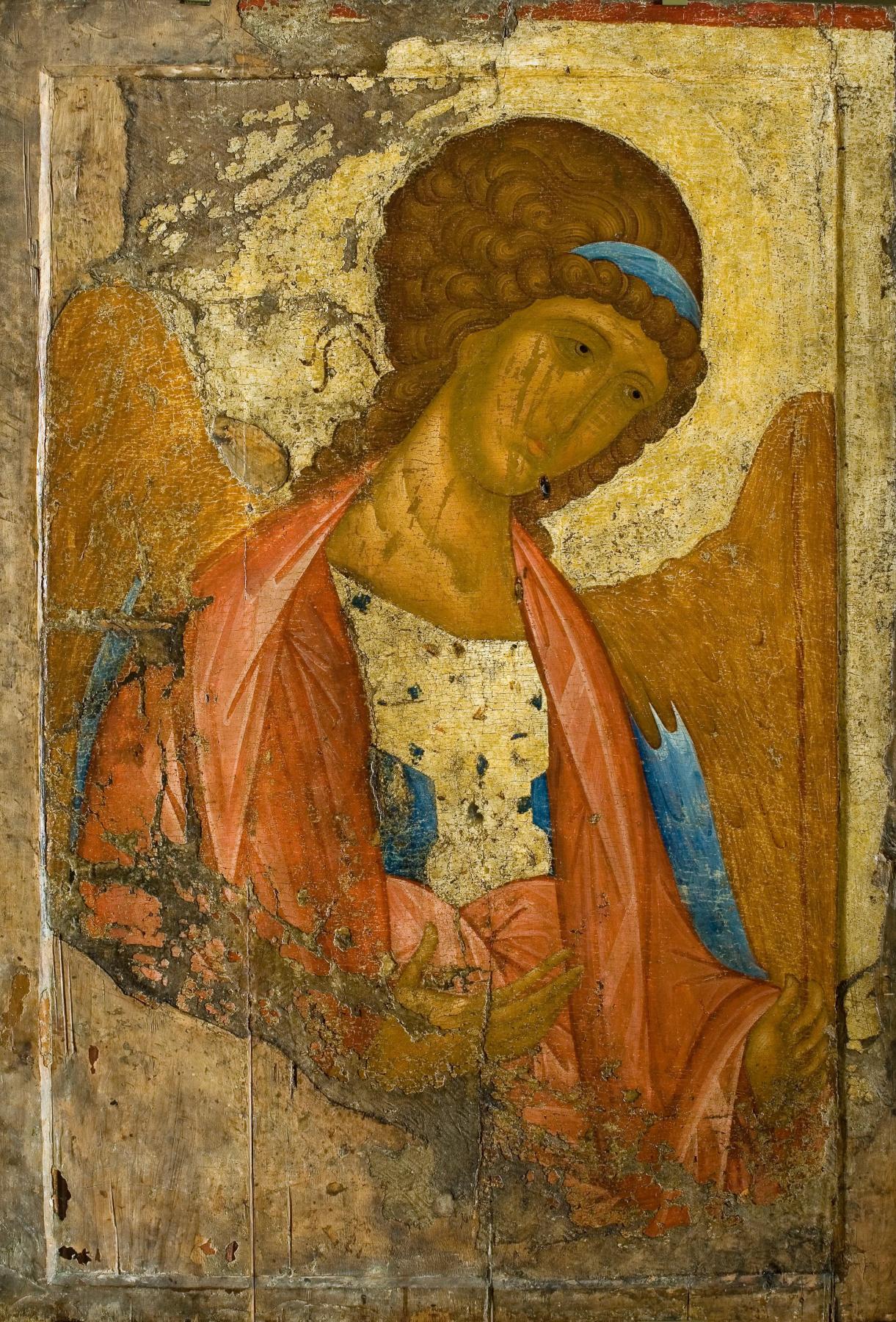 Andrey Rublev. Zvenigorod rank. archangel Michael