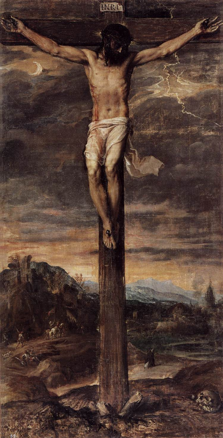 Titian Vecelli. Crucifixion of Christ