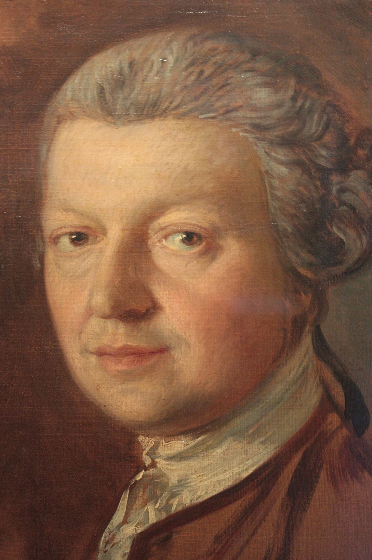 Thomas Gainsborough. Portrait Of Joshua Kirby