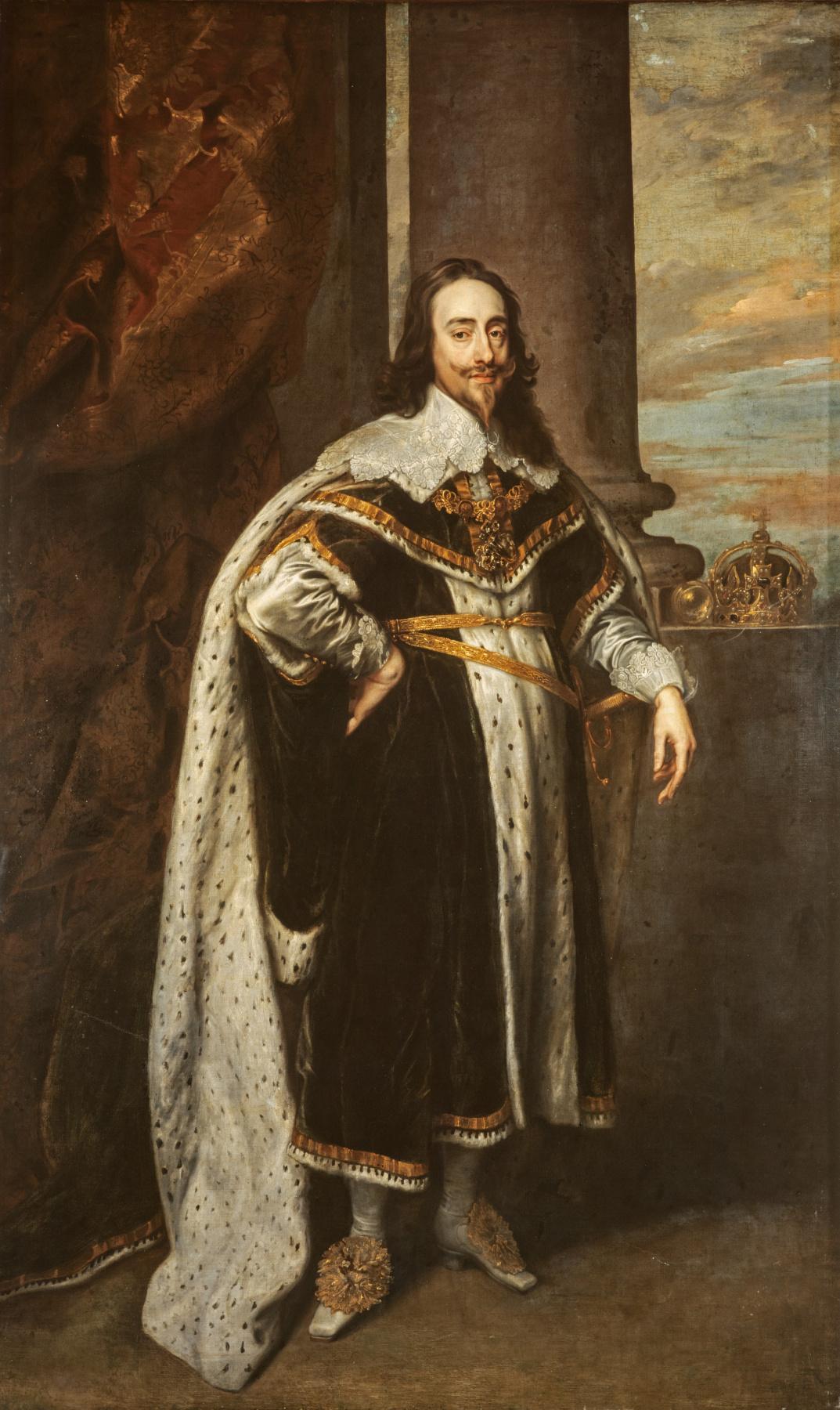 Anthony van Dyck. Charles I, king of England