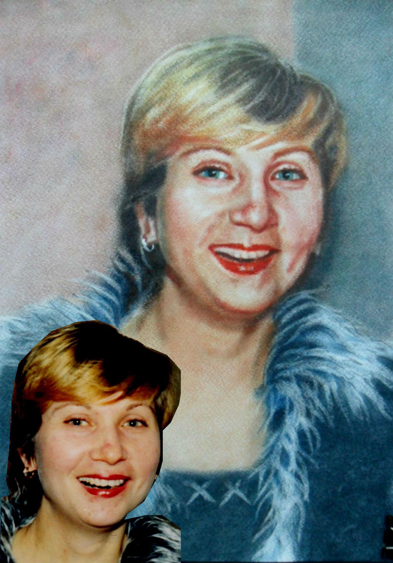 Olga Vladimirovna Mikhaylenko. Portrait of Svetlana Shabalina photo
