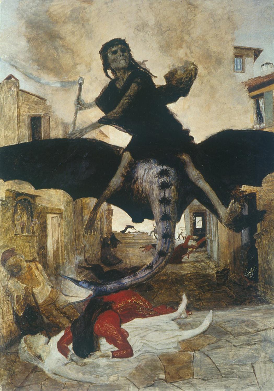 Arnold Böcklin. Plague