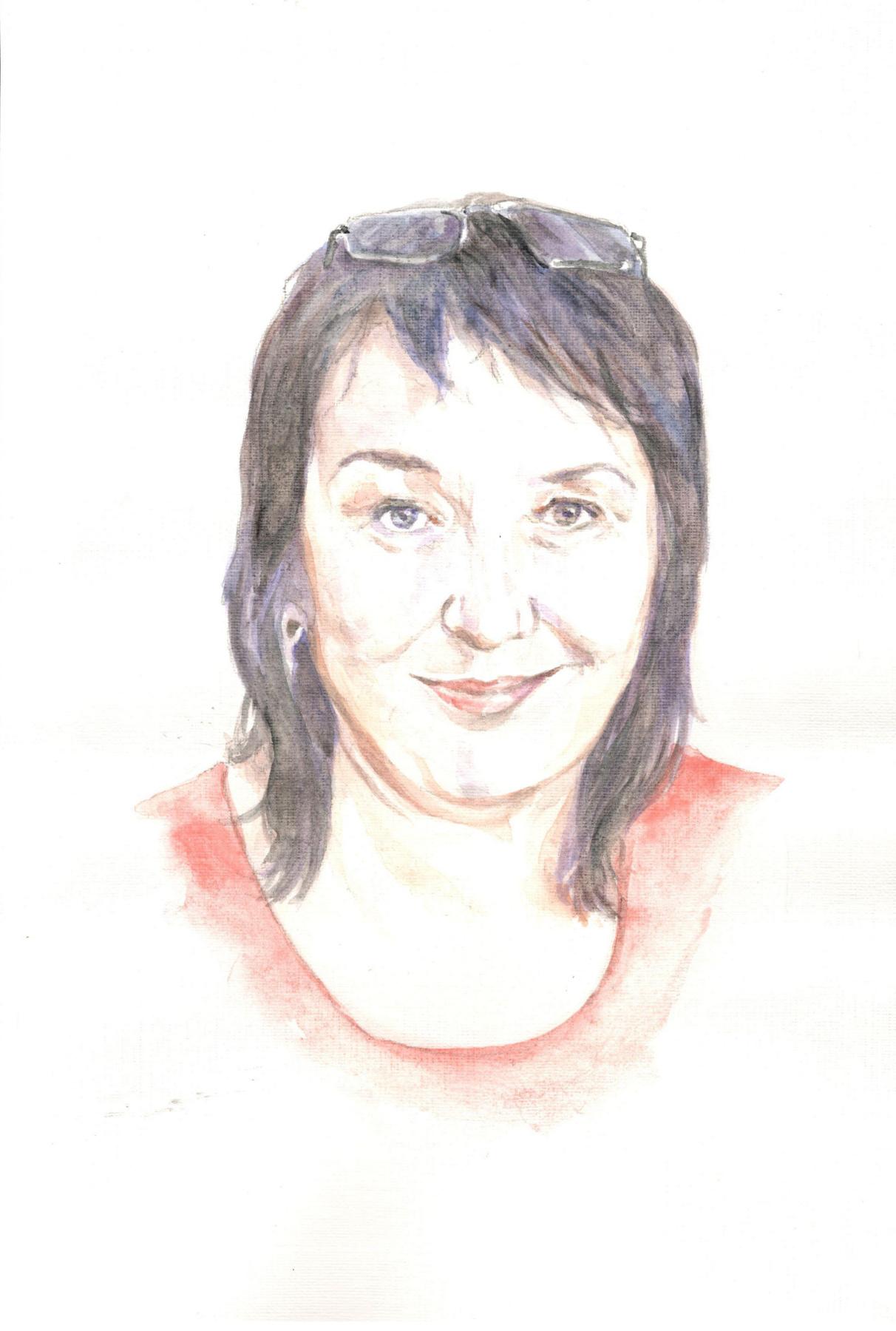 Ivan Alexandrovich Dolgorukov. Watercolor portrait by TV Miroshnichenko.