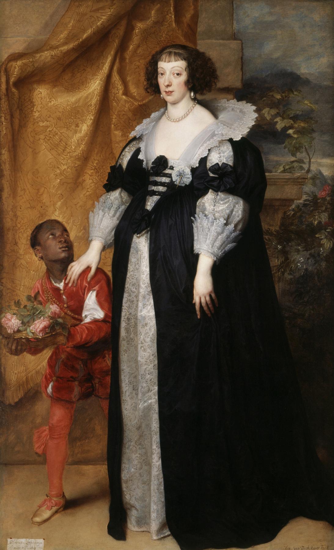 Anthony van Dyck. Princess Henrietta Of Lorraine