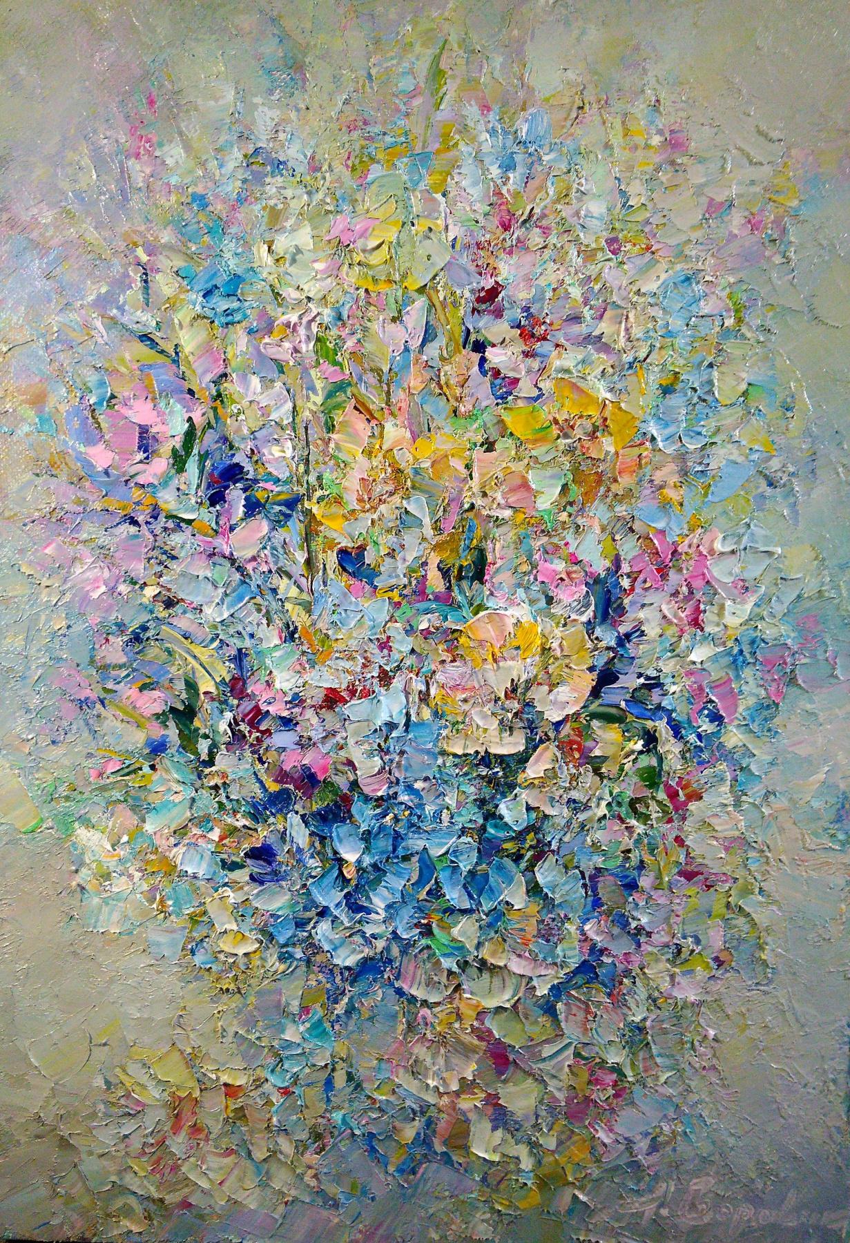 Andrei Ivanovich Boravik. Summer colors