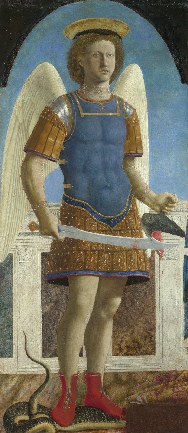 Пьеро делла Франческа. Святой Михаил