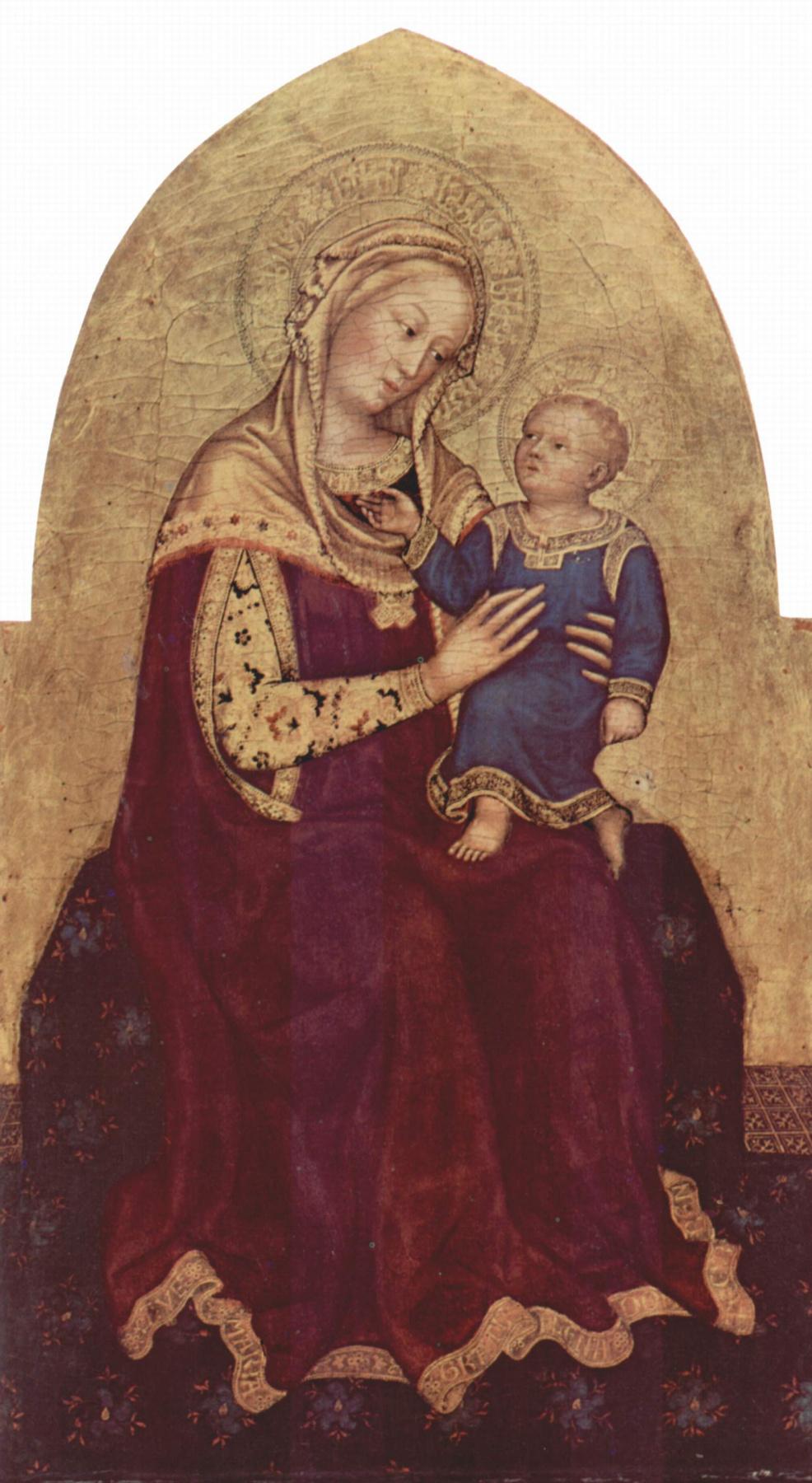 Gentile da Fabriano. Madonna