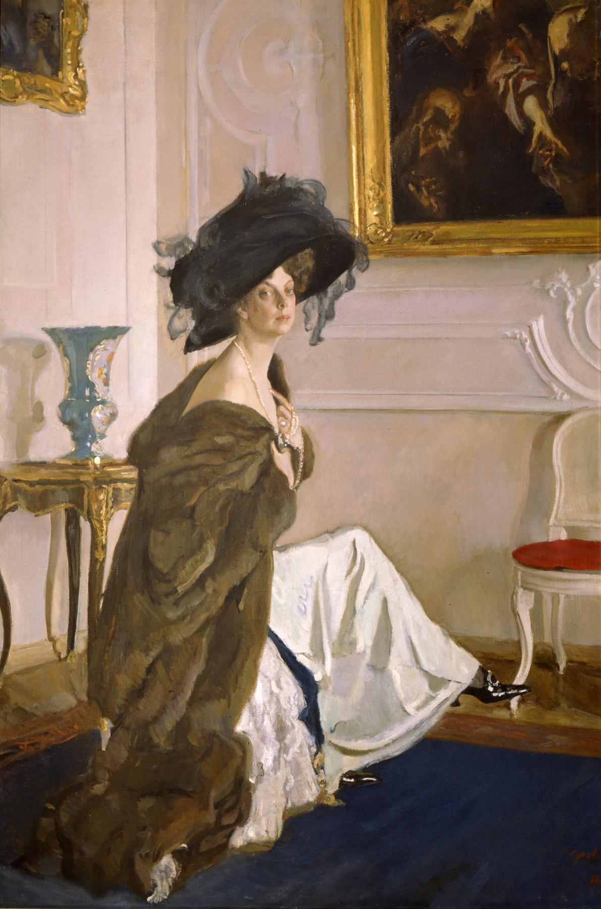 Valentin Aleksandrovich Serov. Portrait of Princess Olga Orlova