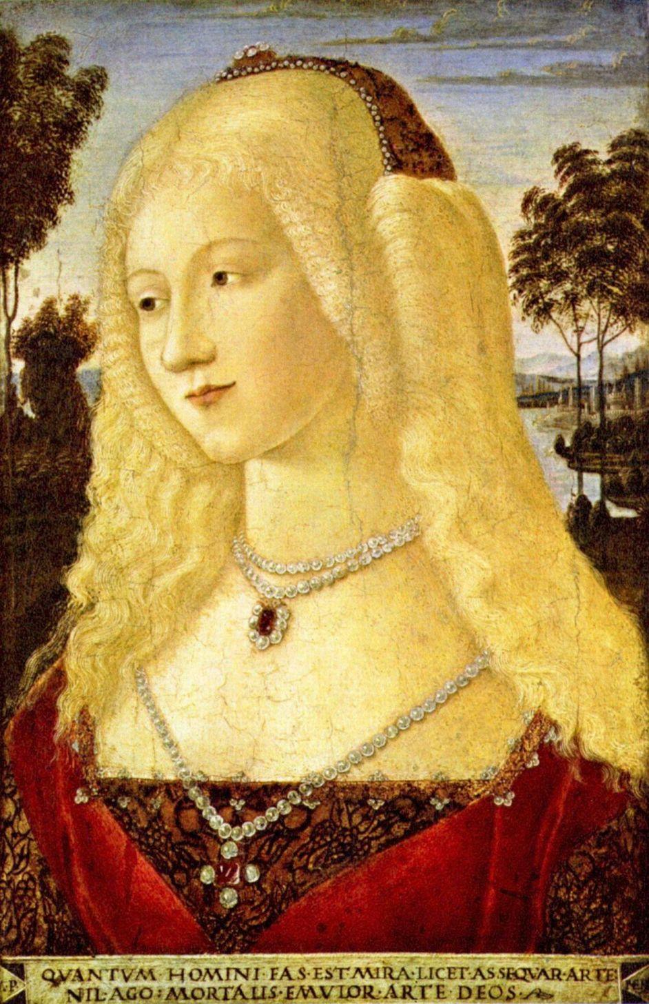 Nerocchio De Landi. Portrait of a lady