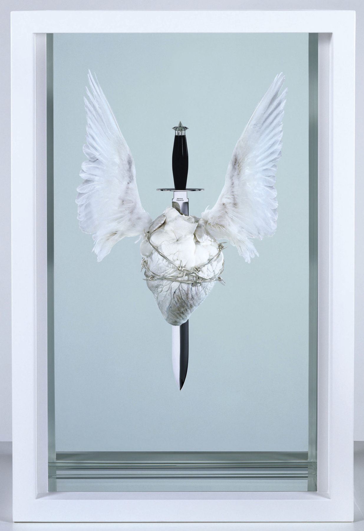 Damien Hirst. The Immaculate Heart