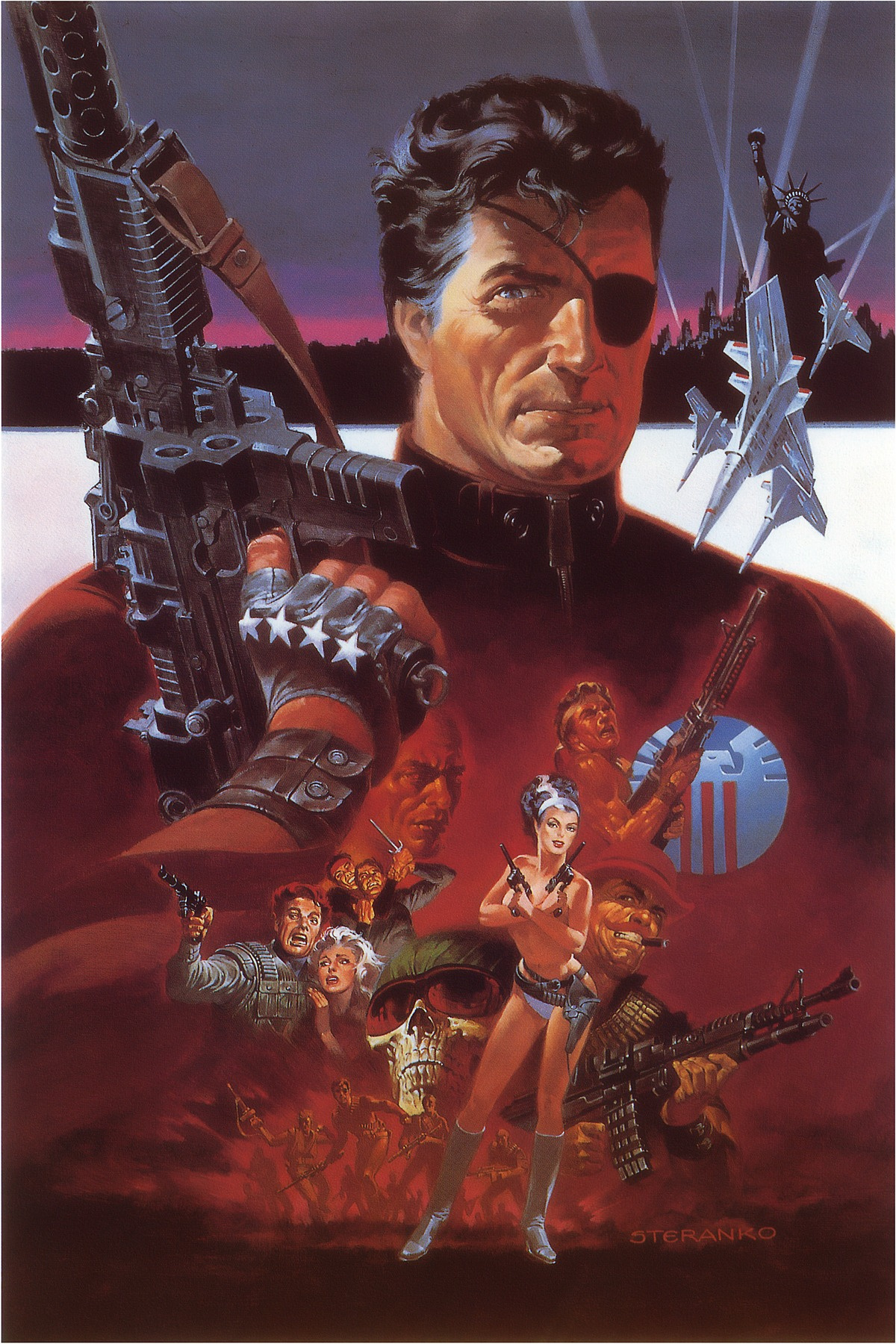 Jim Steranko. Nick Fury