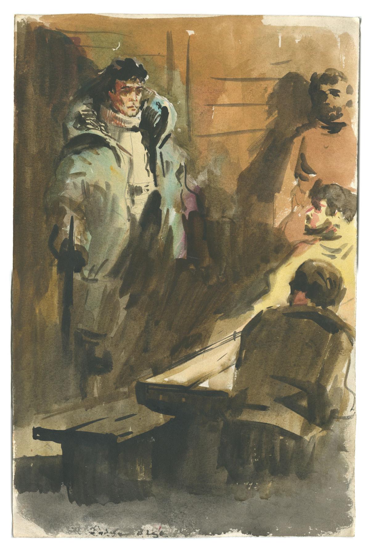Alexandrovich Rudolf Pavlov. Illustration