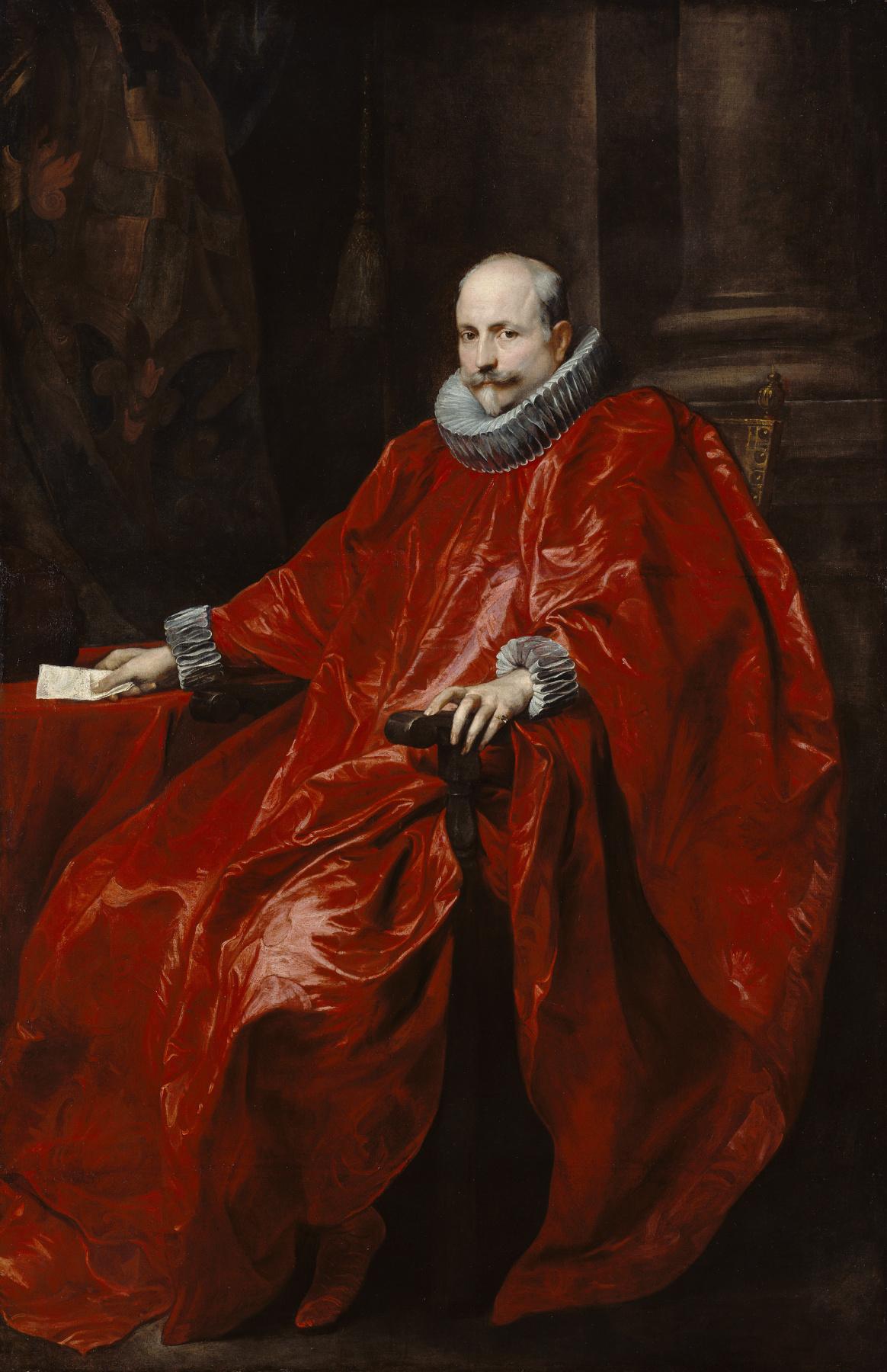 Anthony van Dyck. Portrait Of Agostino Pallavicini