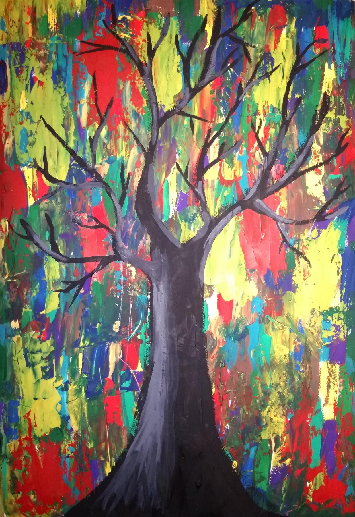 Art-Teodor Gallery. Tree of lies