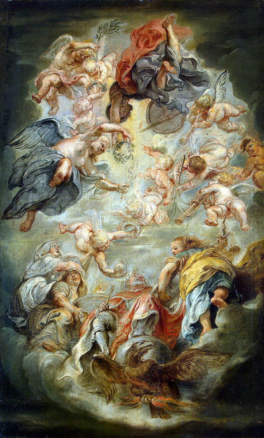 Peter Paul Rubens. The Apotheosis Of James I