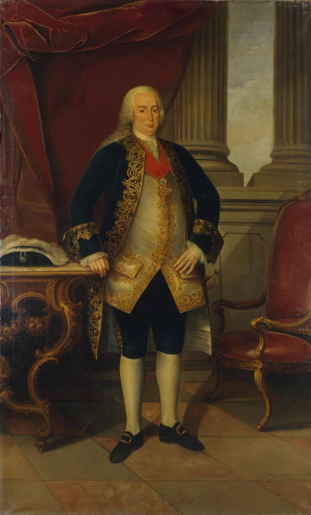 Мигел Антониу ду Амарал. Portrait of Pedro, Prince of Brazil