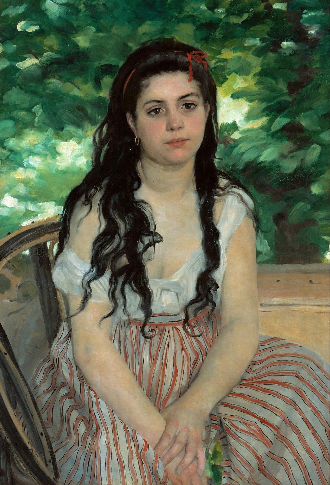 Pierre-Auguste Renoir. Summer. Gypsy