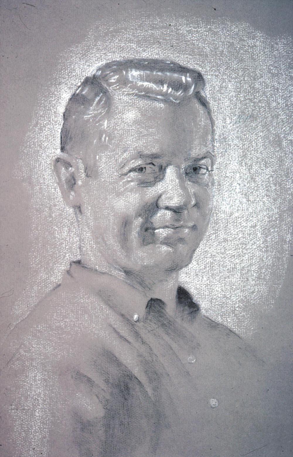 David Hardy. Portrait of a man