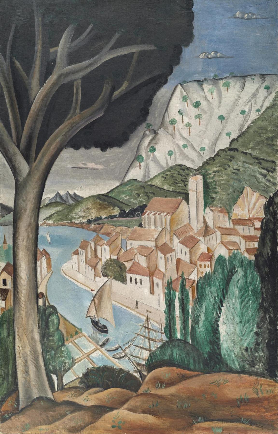 Andre Derain. Martigues (Harbor in Provence)