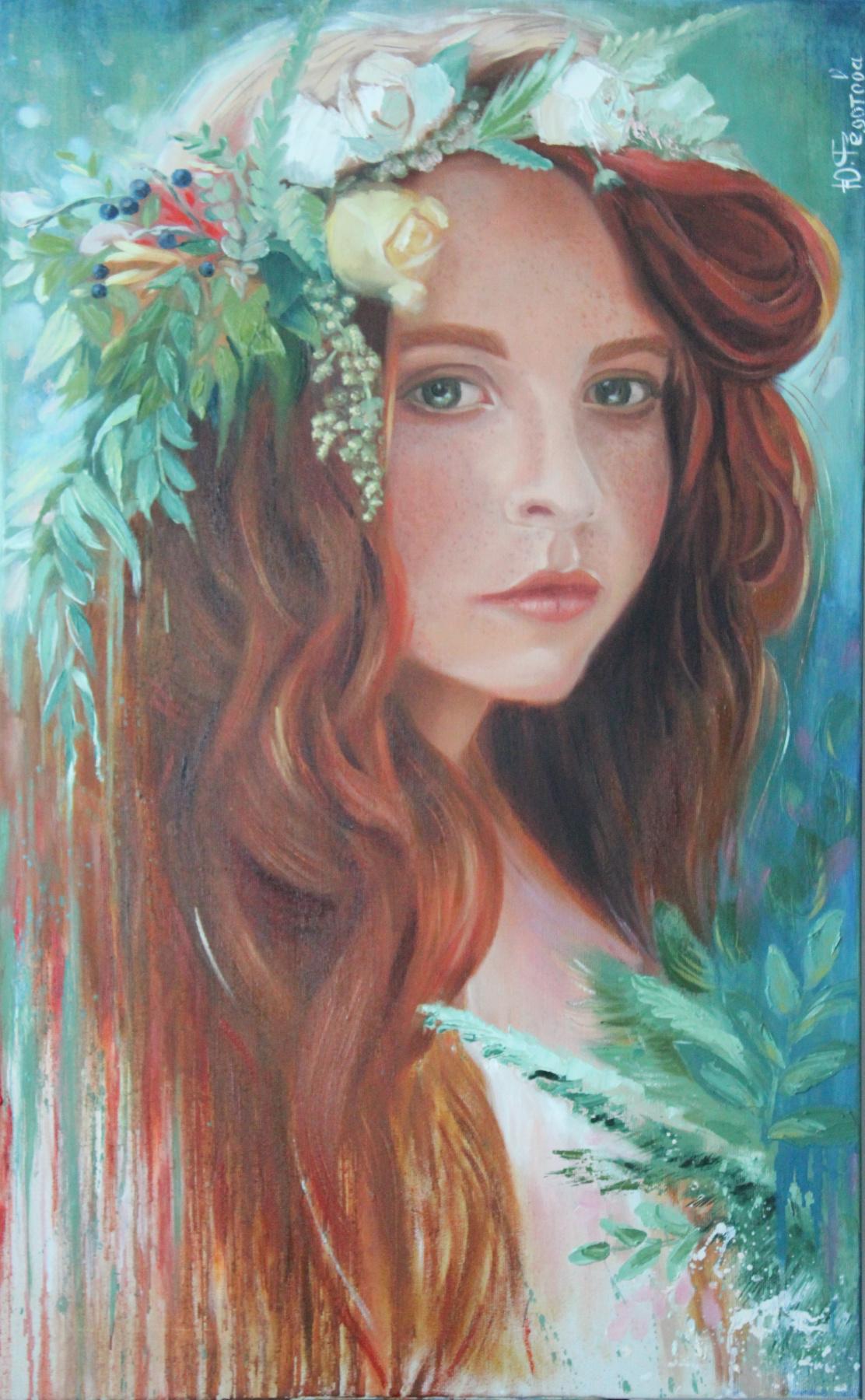 Julia Valerievna Fedotova. Little nymph