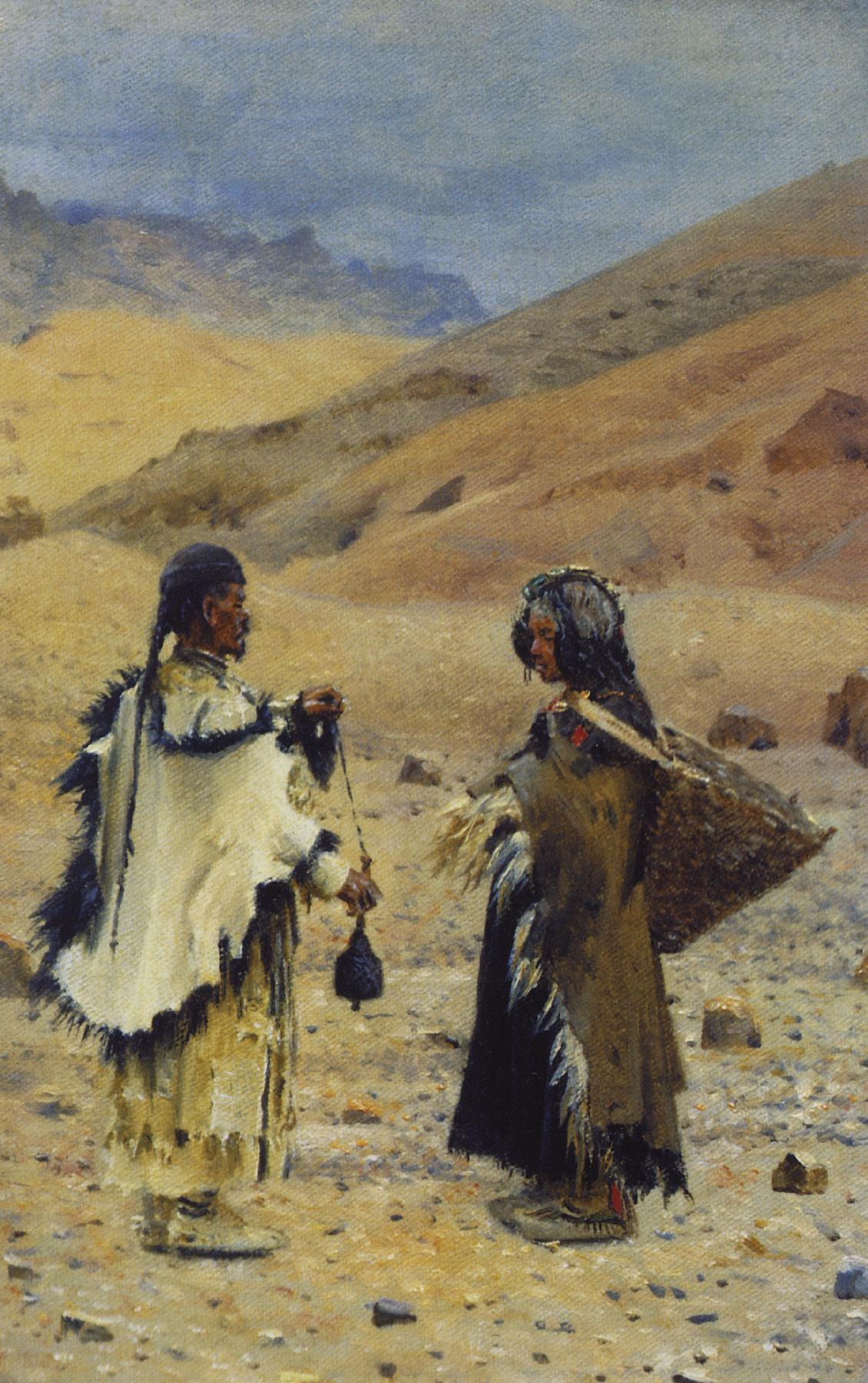 Vasily Vereshchagin. Residents Of Western Tibet