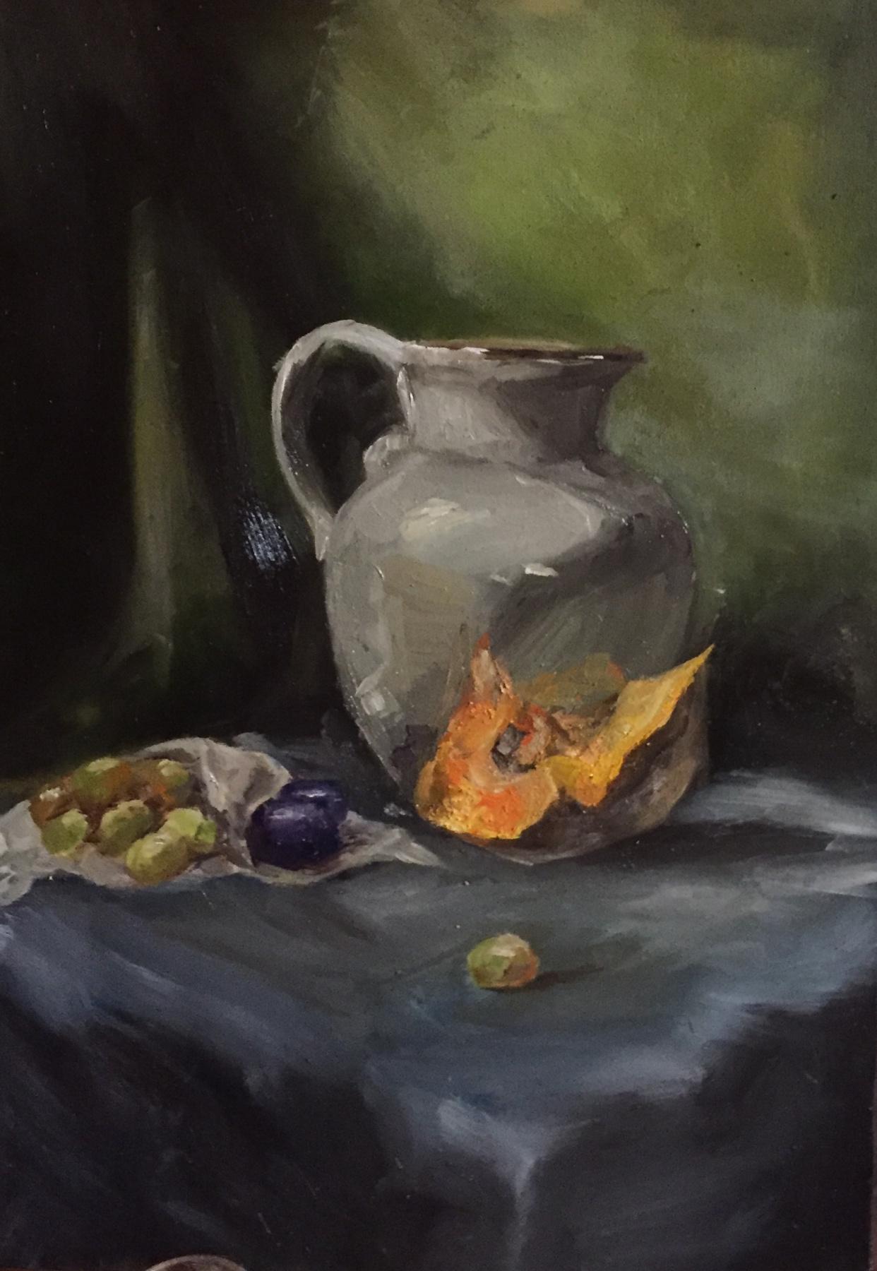 Julia Darbinyan. Lonely grape
