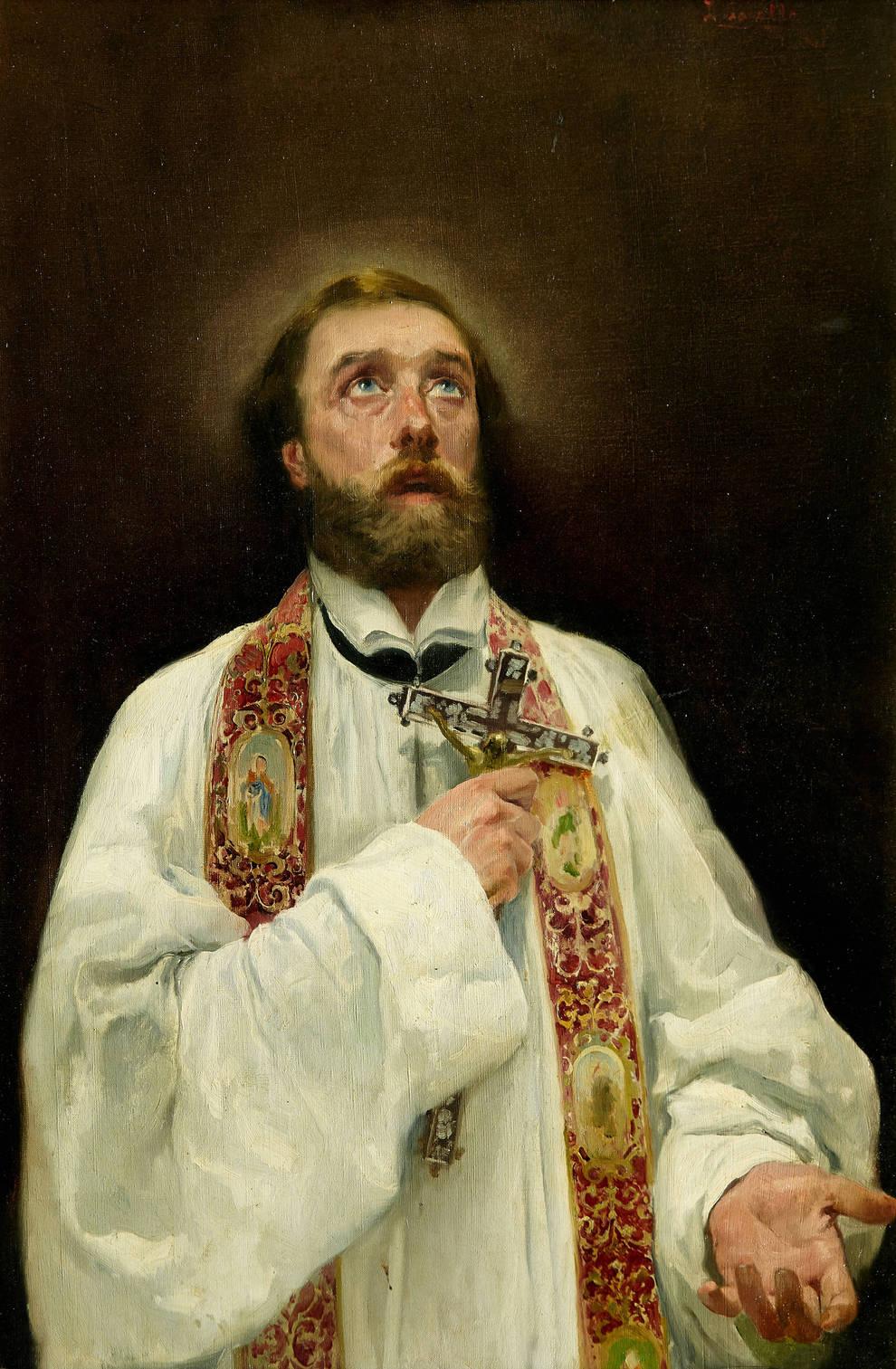 Joaquin Sorolla. St Francis Xavier