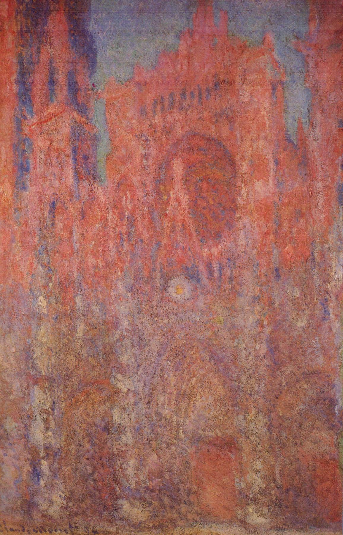 Claude Monet. Rouen Cathedral