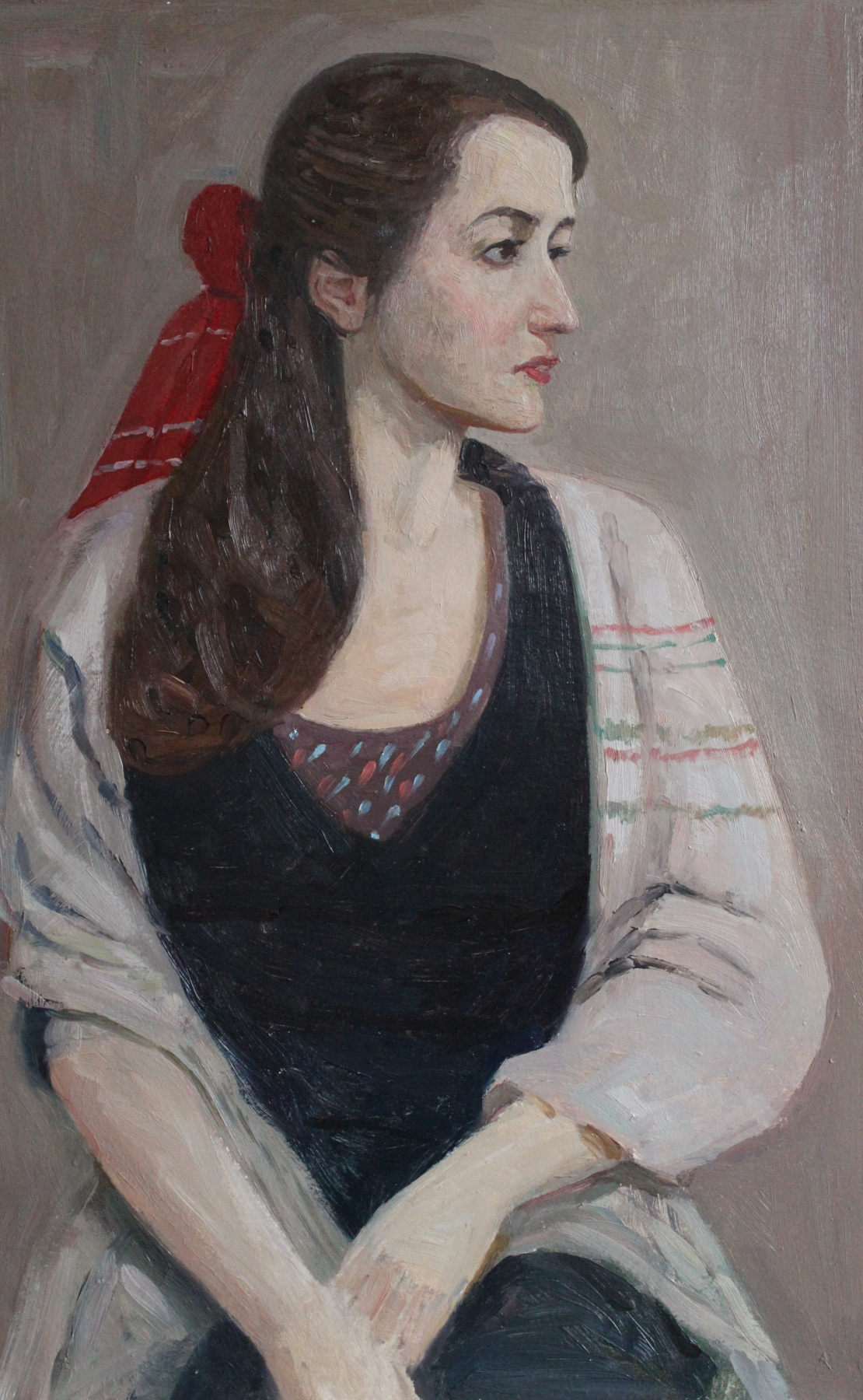 Eugene Alexandrovich Kazantsev. Портрет Яны Грабовой.
