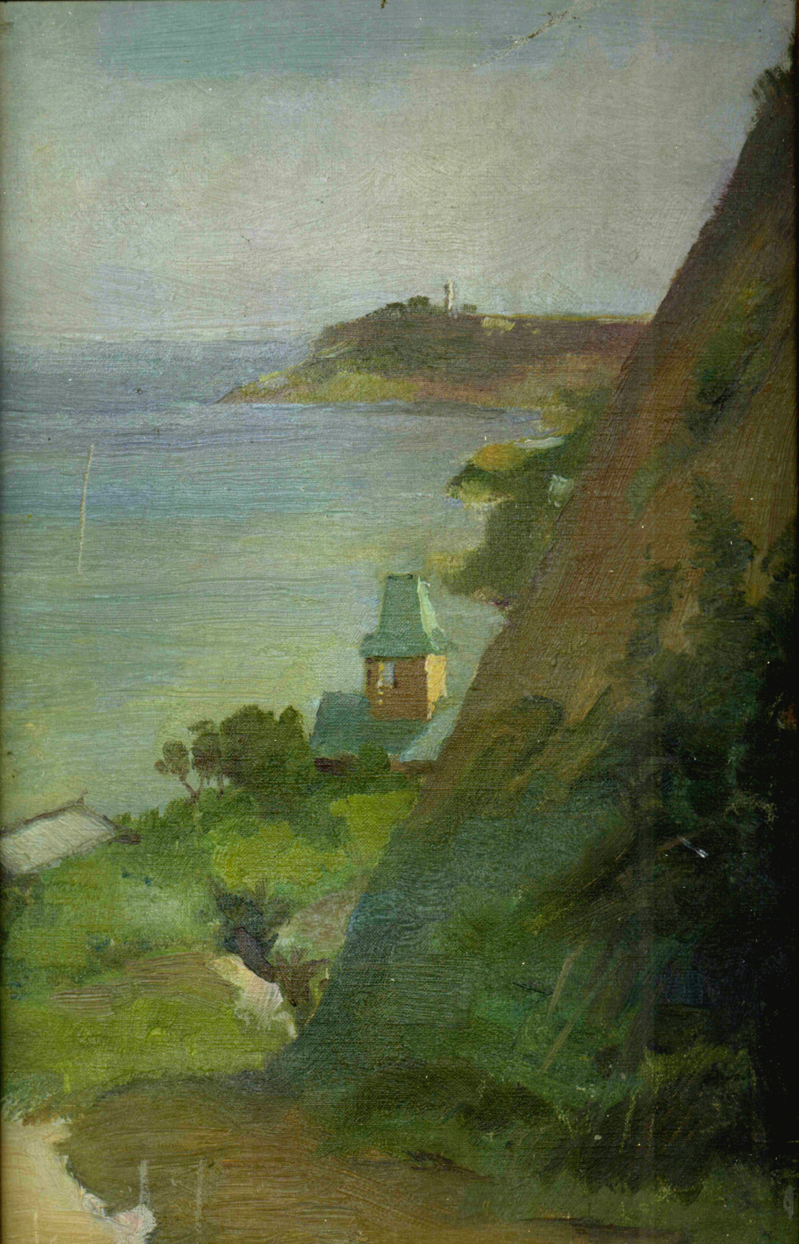Eugene Iosifovich Bukovetsky. The surroundings of Odessa, the shore of the Big Fountain