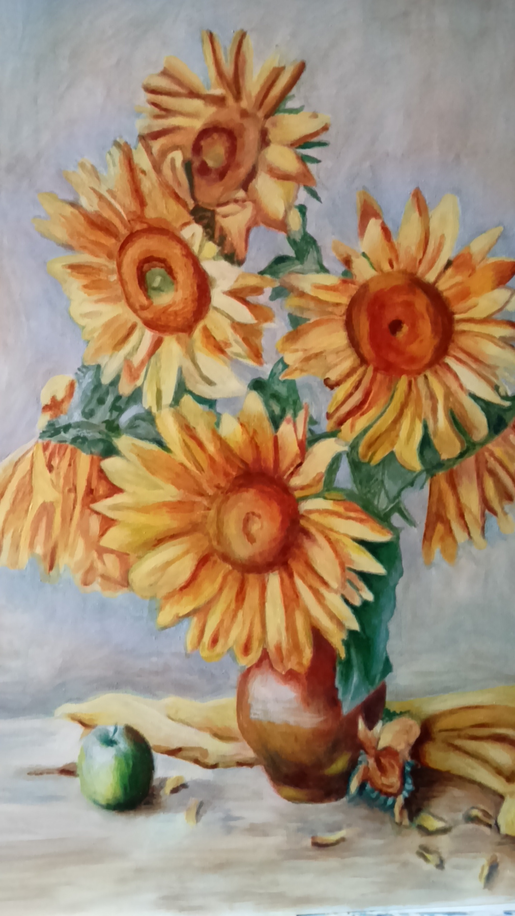 Gulnara Gafarova. Sunflowers